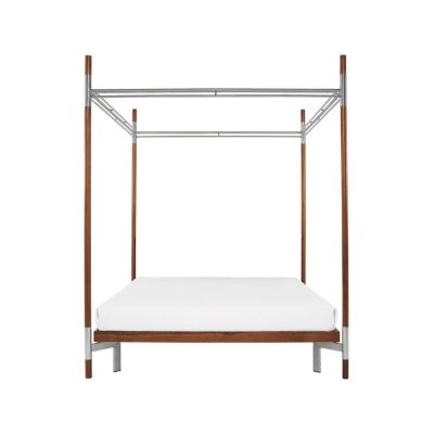 Edward IV – Double Canopy Bed White