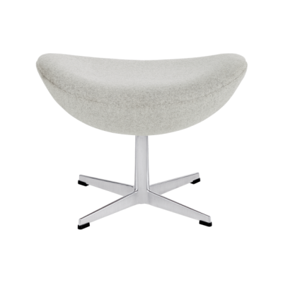 Egg Foot Stool Natural Leather Natural