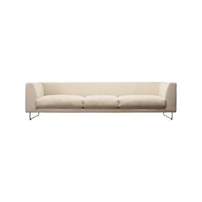 Elan 3 Seater Sofa Pelle Extra Leather Extra 983, Polyurethane Foam