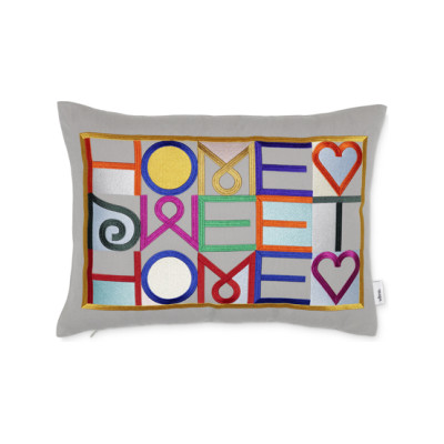 Embroidered Pillow - Home Sweet Home