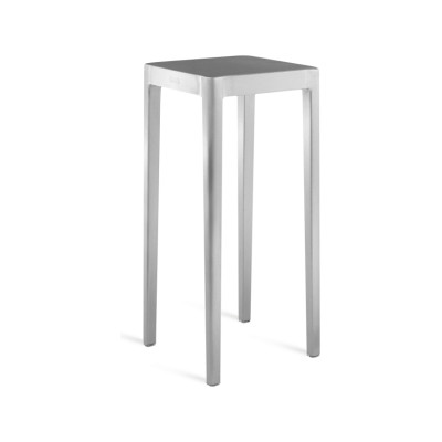 Emeco Occasional Table Hand Brushed, 76 H