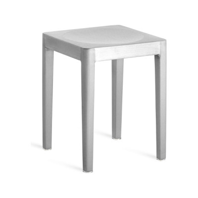 Emeco Stacking Stool Hand Brushed