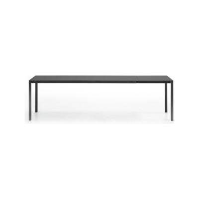 Ext-Table, Monochromatic Anthracite Grey Top & Matt Anthracite Grey Frame, 90x200cm