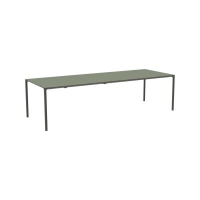 Terramare Extensible Rectangular Dining Table Corten 86