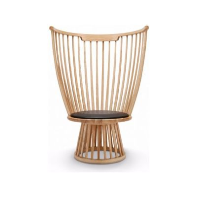 Fan Lounge Chair Natural