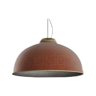 Farel Pendant Light Matt Brass, Rust / Dark Grey