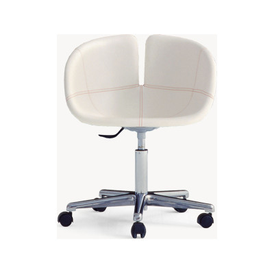 Fjord Starbase Armchair B0028 - Leather Blue Royal - T, White