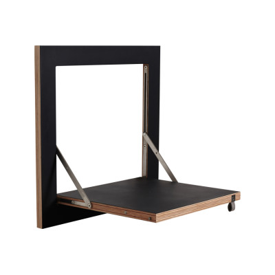Fläpps Square Shelf Black