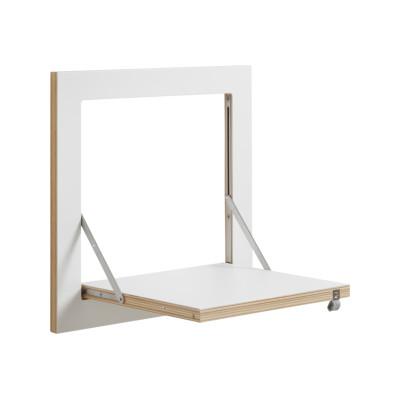 Fläpps Square Shelf White