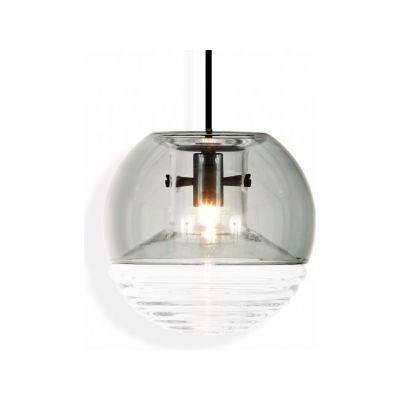 Flask Ball Pendant Light Smoke