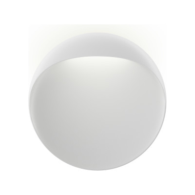 Flindt Wall Light White Textured , 200, LED 2700K