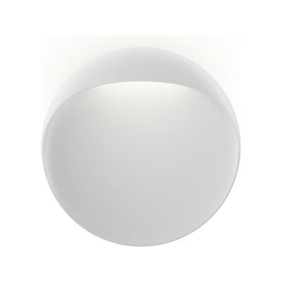 Flindt Wall Light White Textured , 400, LED 3000K