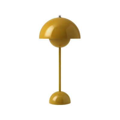 Flowerpot VP3 Table Lamp Mustard