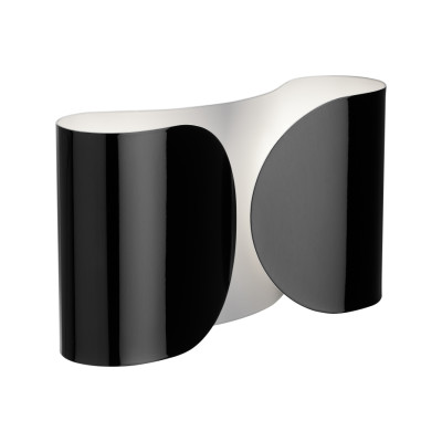 Foglio Wall Light Glossy Black