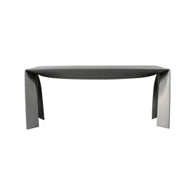 Folded Bench Natural Aluminium