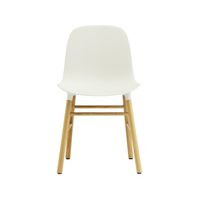 Form Dining Chair NC Oak, White