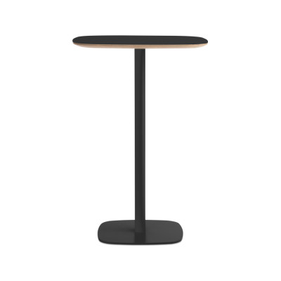 Form High Cafe Table Black, Large