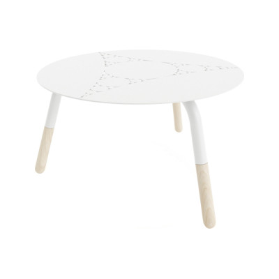 Fractal Coffee Table White