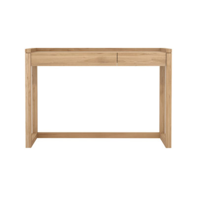 Frame Console Table Oak