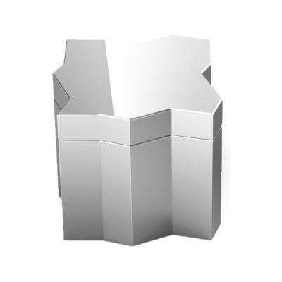 Frammenti Aluminum Box 1 Mirror