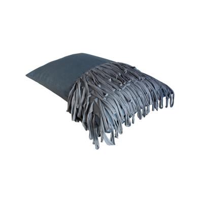 Fringed Cushion – Dark