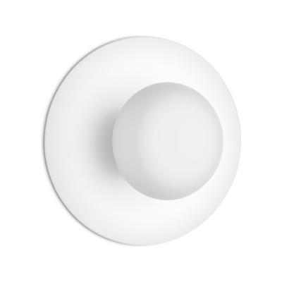 Funnel Ceiling/Wall Light Matt White Lacquer, 22cm