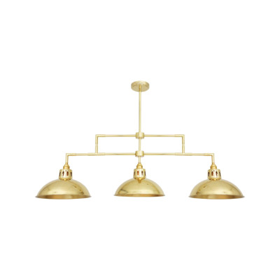 Georgia Bar Pendant Light Antique Brass