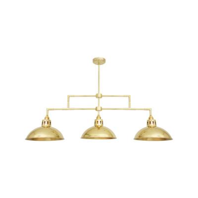 Georgia Bar Pendant Light Satin Brass