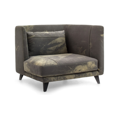 Gimme More Armchair A4500 - Art.48045 - 206 beige, Left, Raw black