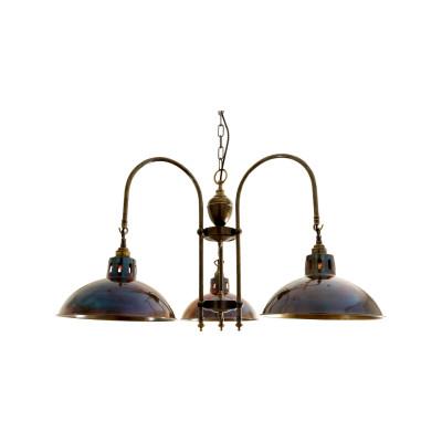 Goiania Chandelier Polished Brass