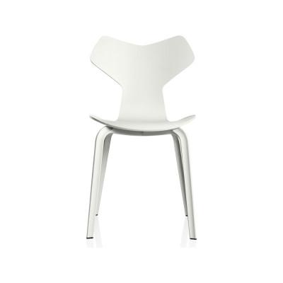 Grand Prix Wooden Chair Natural Veneer Walnut 80