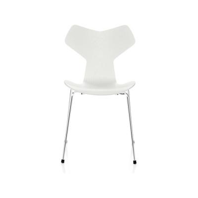 Grand Prix Stackable Chair Natural Veneer Walnut 80