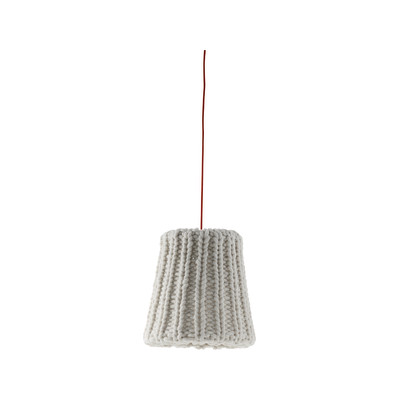 Granny Suspended Lamp light grey, small