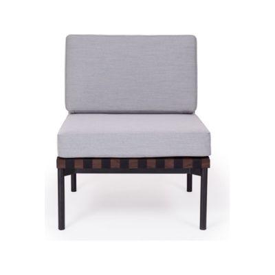 Grid - Armchair without Armrests Coda 2 100, Oak