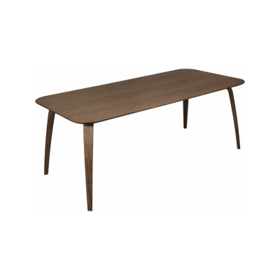 Gubi Rectangular Dining Table Gubi Wood American Walnut