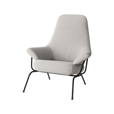 Hai Lounge Chair Uniform Melange Shell