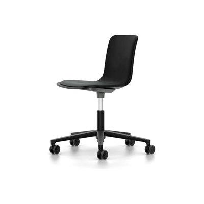 HAL Studio With Seat Upholstery 65 orange, 03 castors soft - braked for hard floor, Hopsak 71 yellow/pastel green