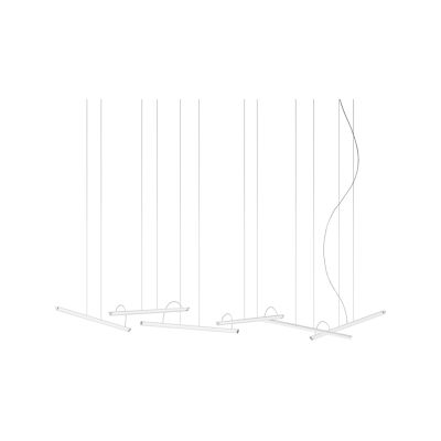 Halo Lineal Pendant Light 3