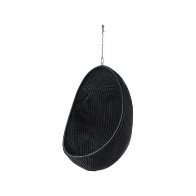 Hanging Egg Outdoor Chair Black