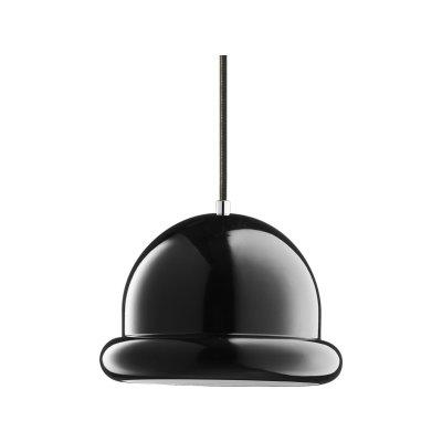 Hattrick Pendant Light Black
