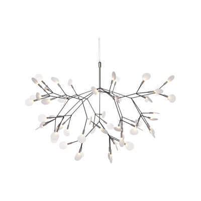 Heracleum II Pendant Light Moooi Heracleum Nickel, 10m Cable Length