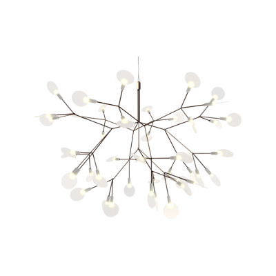 Heracleum II Small Pendant Light Copper, 10 m Cable Length
