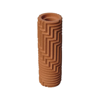 Herringbone Bud vase - Brick Red Herringbone Bud vase - Brick Red