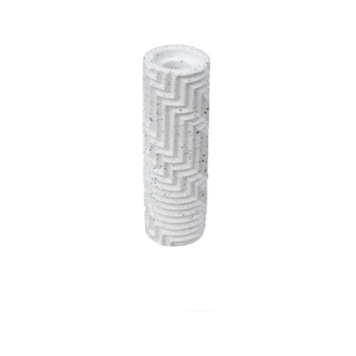 Herringbone Bud Vase - Granite Herringbone Bud Vase - Granite