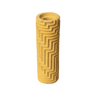 Herringbone Bud vase - Yellow Herringbone Bud vase - Yellow