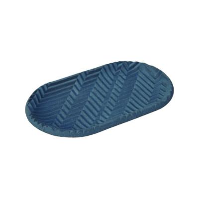 Herringbone Tray - Dark Blue Herrigbone Tray - Dark blue