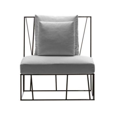 Herve Single seat Grey/Olive-Green