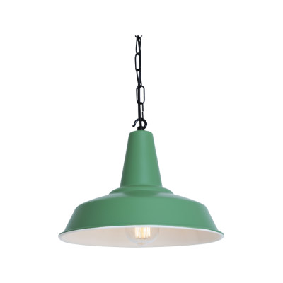 Hex Pendant Light Powder Coated Yellow