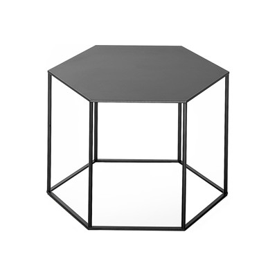 Hexagon Stacking Side Table - Set Of 3 B72 Denim Blue