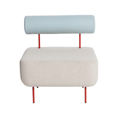 Hoff Medium Armchair-Villegiature Red Legs